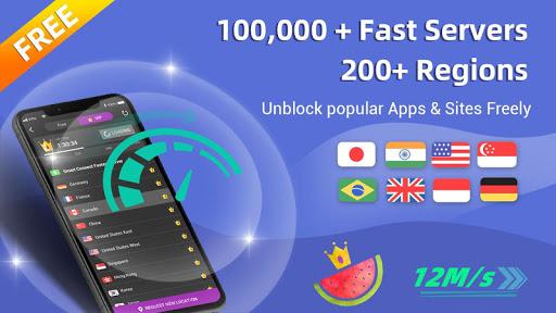 Free Melon VPN Pro - Unlimited Ultra Fast Proxy 1.4.201 screenshots 1