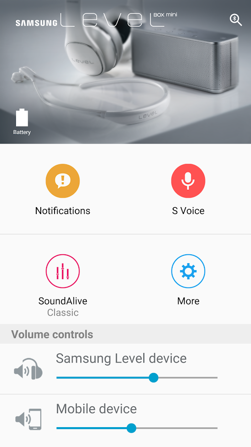 Samsung Level- screenshot