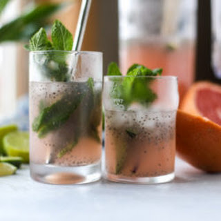 Grapefruit Mint Chia Refresher Recipe