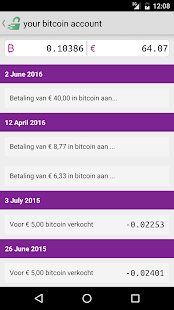 Bitmymoney Bitcoin account- screenshot thumbnail