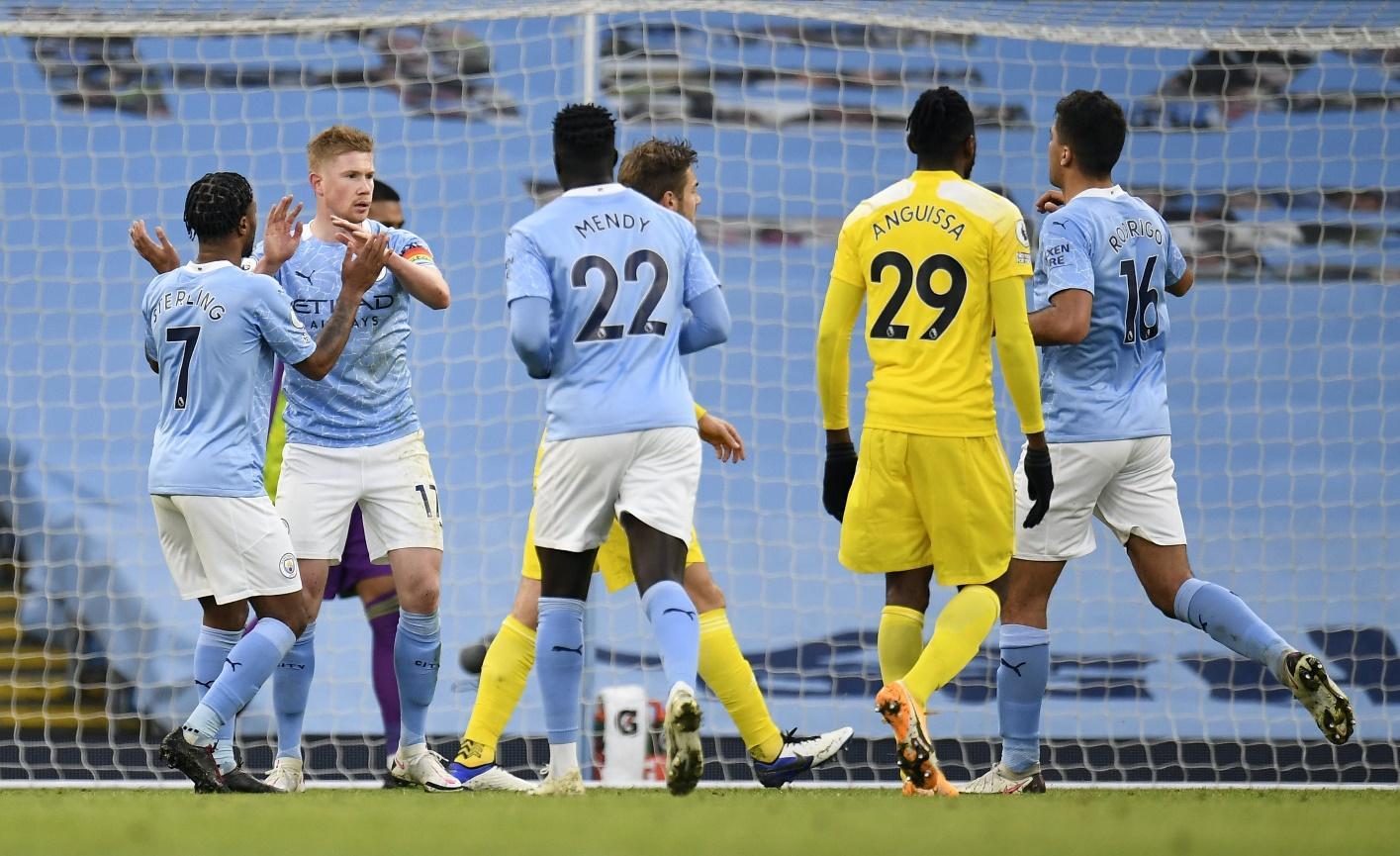 Manchester City đang dần lấy lại sức mạnh của mình