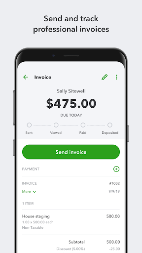 QuickBooks Online Accounting, Invoicing & Expenses  Screenshots 4