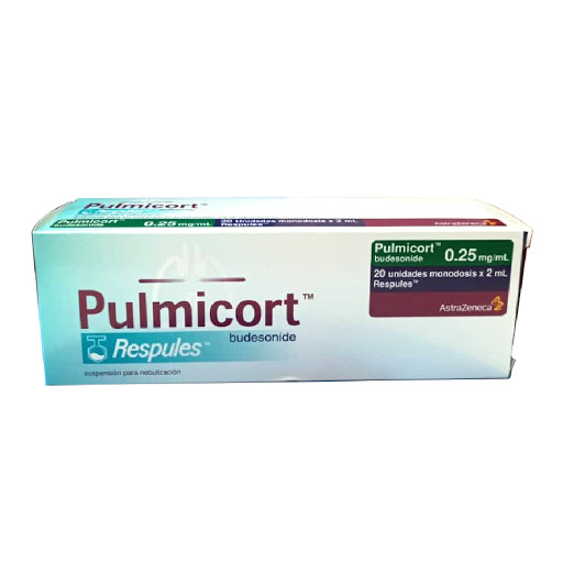 Budesonida Pulmicort 0.25mg/mL x2mL