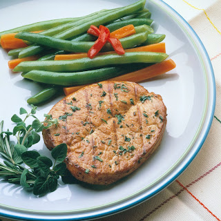 Herbed Butterfly Pork Chops Recipe