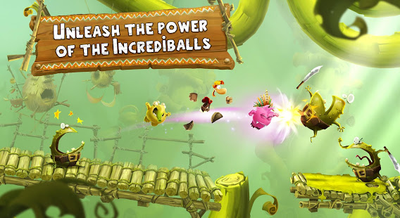 Game Rayman Adventures APK for Windows Phone
