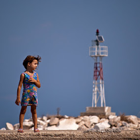 Mediteraneo by Dejan Ilijic - Babies & Children Children Candids ( lighthouse, summer, kids )