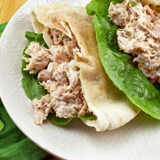 Tuna Salad Pita.