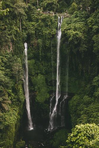 Sekumpul Waterfalls, North Bali