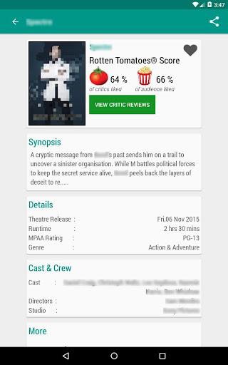 Movie & TV Listings – Recommendations & Reviews v1.9 screenshots 12