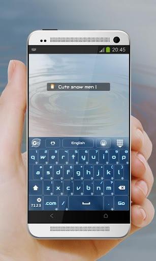 【免費個人化App】冬天快樂 GO Keyboard-APP點子