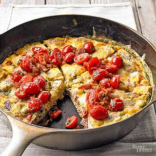 Frittata with Tomatoes
