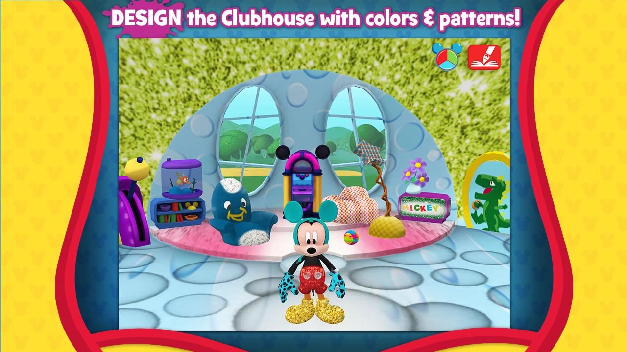 Mickey's Color and Play!: captura de pantalla