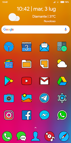 CRISPY HD - ICON PACK Screenshot Image