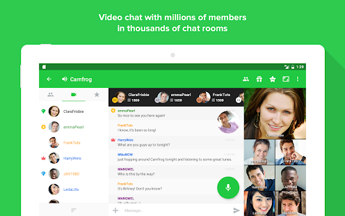 Camfrog - Group Video Chat- screenshot thumbnail