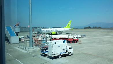 Photo: 鹿児島空港到着