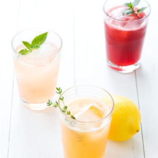 Fruit and Herb Lemonade.