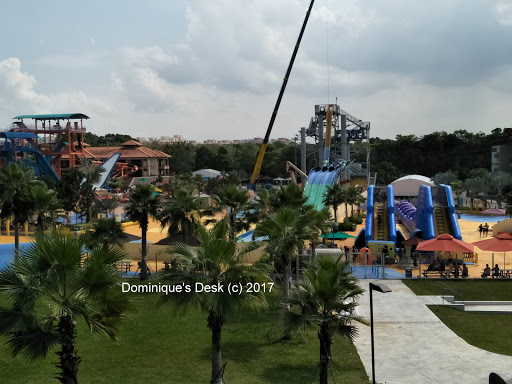some of the slides at Wild Wild Wet