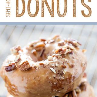 Semi-Homemade Caramel Pecan Donuts