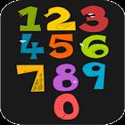 Раскраска для детей - Цифры icon