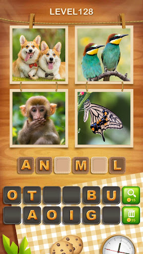 4 Pics 1 Word Cookie apkmr screenshots 4
