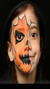 Scary Face Ideas for Halloween - náhled