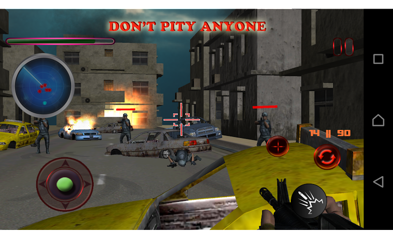 Frontline Combat Commando Screenshot