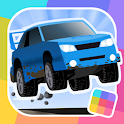 Cubed Rally Racer: How Far Can You Drive? icon