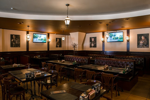 Основной зал в ресторане Гамбринус на Площади Ильича для свадьбы