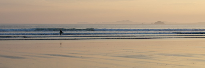 Photo: 11. 3rd - Newgale at Twilight - by Mike