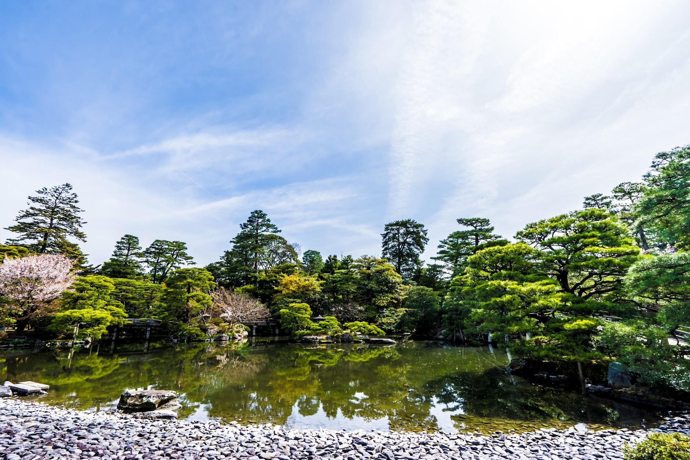 Kyoto Imperial Palace Oikeniwa2