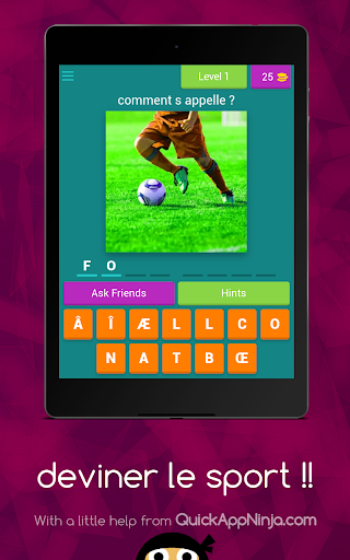 deviner le sport !! android2mod screenshots 6