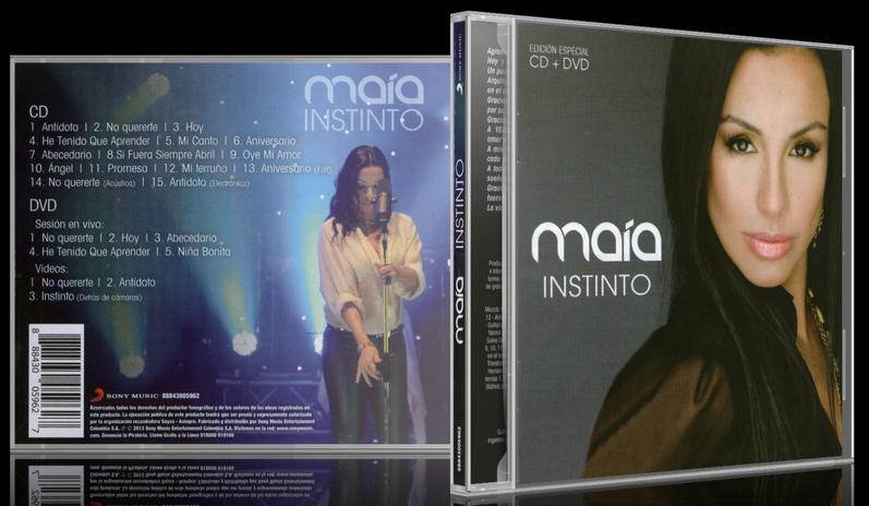 Maía - Instinto (Edicion Especial) (2013) [MP3 @320 Kbps]