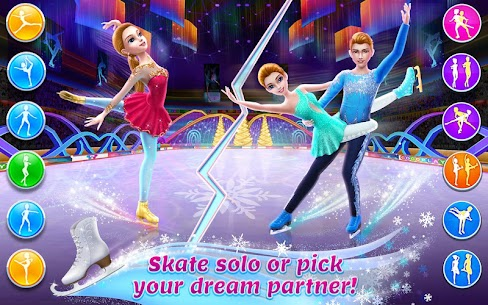 Ice Skating Ballerina – Dance Challenge Arena Apk Download For Android and Iphone 7