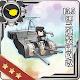 15.5cm三連装副砲改
