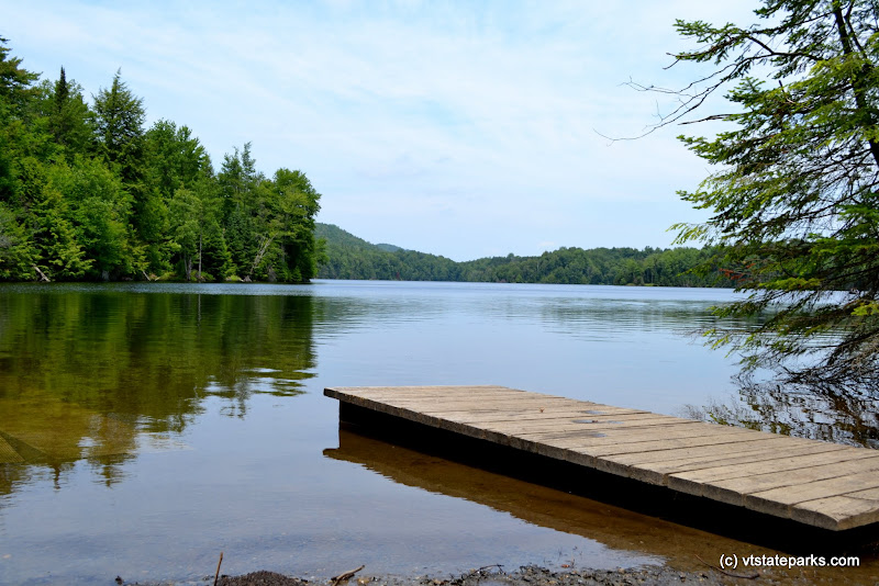Photo: Scenic view from the dock at Green River Reservoir State Park by Alexandra Martin