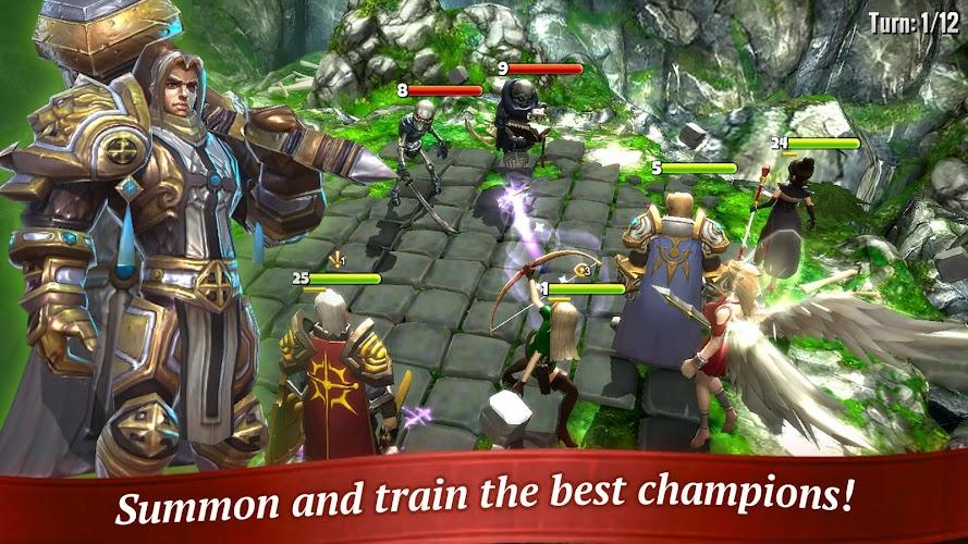 Hero Forge: Sky Arena - Online Turn Based RPG APK | APKPure ai