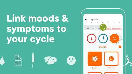Period Tracker Clue - Ovulation and Cycle Calendar screenshot