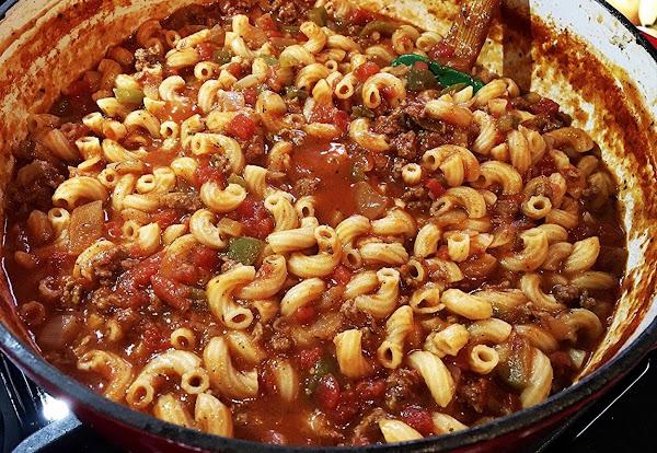 ~ Mom's Goulash ~ Recipe