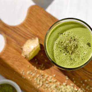 Lemon, Ginger & Green Tea Smoothie