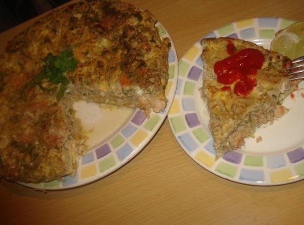 Shrimp & Crab Omelet, Tortilla De Camaron Y Cangrejo Recipe