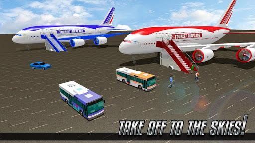 Download Tourist Transporter Airplane Flight Simulator 2018