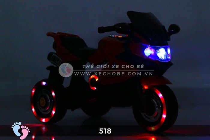 Xe mô tô điện thể thao cho bé 518 6