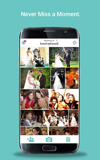 WedPics - Wedding Photo App Screenshot