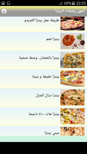 أشهى وصفات البيتزا  screenshots 5