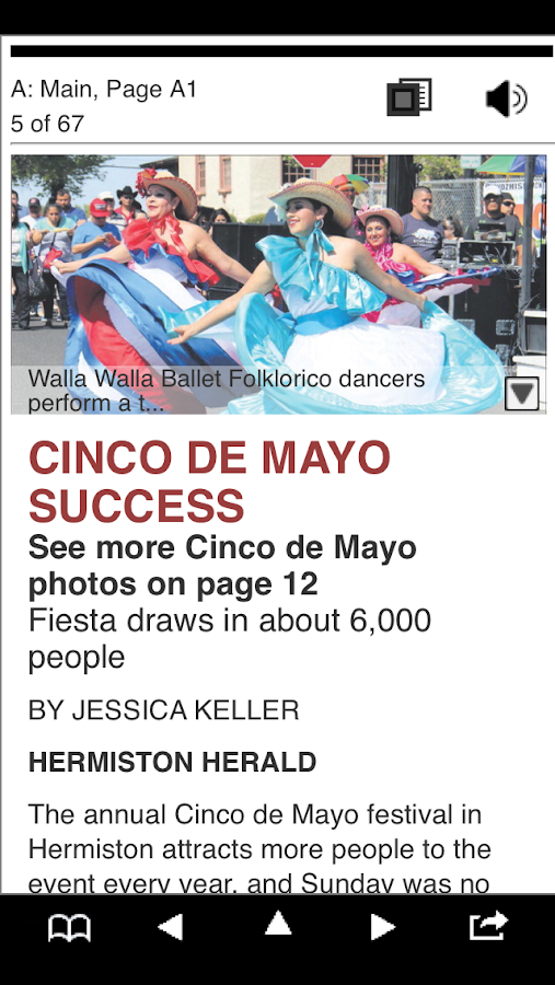 Hermiston Herald e-Edition - screenshot
