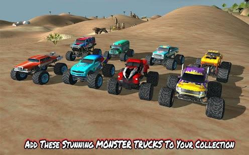 Angry Truck Canyon Hill Race Screenshot