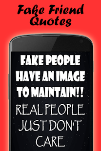Quotes about fake people- screenshot thumbnail