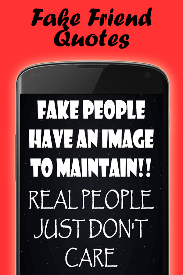 Quotes about fake people- screenshot