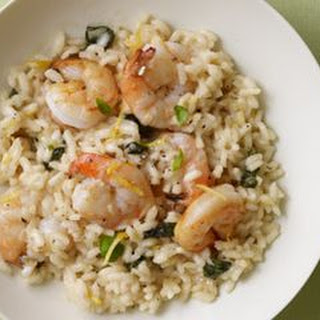 Shrimp, Lemon & Basil Risotto