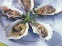 Champagne Oysters With Tarragon Recipe